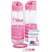 Awareness-To-Go Kit With Personalized Water Bottle 25-oz.