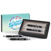Customer Service Sayville Metal Stylus Pen & Pencil Gift Set - Personalization Available