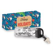 Bluetooth® Wireless Earbuds In Carabiner Case With Holiday Gift Box - Personalization Available