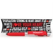 Elite 6-Function Pen With Love Your Heart Pillow Box