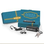 Doctors' Day Bluetooth® Wireless Earbuds In Carabiner Case - Personalization Available