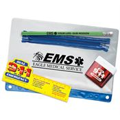 EMS: Your Life, Our Mission Pencil Pouch Gift Set - Personalization Available