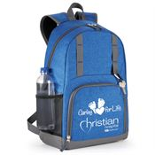 Canyon Backpack-Style Blue Diaper Bag With Changing Pad - Personalization Available