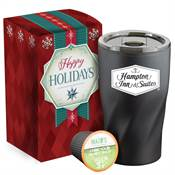Coffee-To-Go K-Mug Gift Set in Holiday Gift Box - Personalization Available