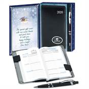 2019 Weekly Planner & Pen In Holiday Gift Box - Personalization Available