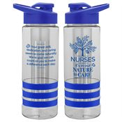 Nurses: It's In Our Nature To Care Fresno Fruit Infuser Water Bottle 24-oz.