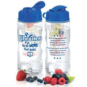 Libraries: We Do More Than Books Fruit Infuser Water Bottle