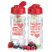 Every Heartbeat Matters Fruit Infuser Water Bottle
