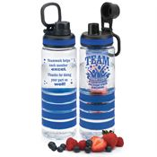 TEAM: Together Everyone Achieves More Fresno Fruit Infuser Water Bottle 24-oz.