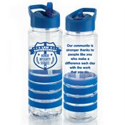 Law Enforcement Tritan™ Gripper Water Bottle