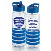 Correctional Officers Tritan™ Gripper Water Bottle 25-oz.