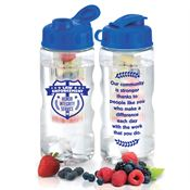 Law Enforcement Fruit Infuser Water Bottle 22-oz.