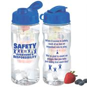 Safety Is Everyone's Responsibility Fruit Infuser Water Bottle