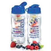 The Influence You Make In A Child's Life Lasts Forever Fruit Infuser Water Bottle 22-oz.