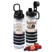Respiratory Care: Be Well, Breathe Well Fresno Fruit Infuser Water Bottle 24-oz.