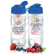Operating Room Team: Excellent People, Excellent Care Fruit Infuser Water Bottle