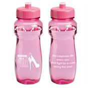 Warriors Wear Pink Vista Water Bottle 24-oz.