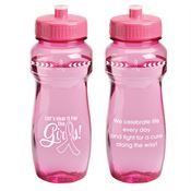 Let's Hear For The Girls Pink Vista Water Bottle