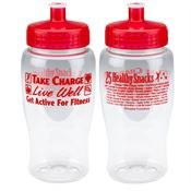 Take Charge Live Well Get Active For Fitness Water Bottle