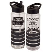 Caught Working Safely Tritan™ Color Gripper Water Bottle