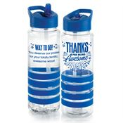 Thanks For Being Awesome Tritan™ Gripper Water Bottle