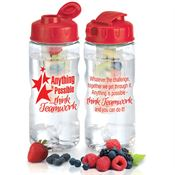 Anything Is Possible Think Teamwork Fruit Infuser Water Bottle