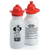 Do Your Part Be Fire Smart Fire Helmet Water Bottle 20-oz.