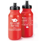 My Future Matters, I'm Drug Free! 20-oz. Water Bottle