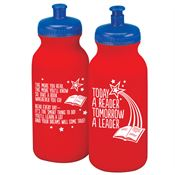 Today A Reader, Tomorrow A Leader Water Bottle 20-oz.