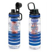 Nurses: It's In Our Nature To Care Fresno Fruit Infuser Water Bottle
