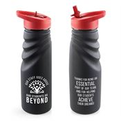 Our Staff Goes Above, Our Students Go Beyond Tahoe Grip Water Bottle 24-oz.