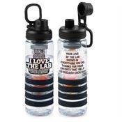 I Love The Lab Fresno Fruit Infuser Water Bottle 24-oz.