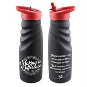 Making A Difference Today, Tomorrow & Always Tahoe Grip Water Bottle