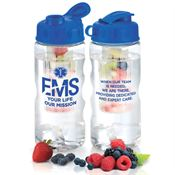 EMS: Your Life, Our Mission Fresno Fruit Infuser Water Bottle 22-Oz.