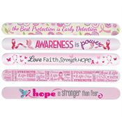 Full-Color Salon Breast Cancer Awareness Emery Board Assortment Pack