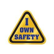 I Own Safety Lapel Pin With Presentation Card