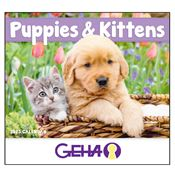 2019 Puppies & Kittens Wall Calendar - Stapled - Personalization Available