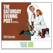 2019 The Saturday Evening Post Wall Calendar - Stapled - Personalization Available