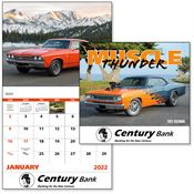 2019 Muscle Thunder Wall Calendar - Stapled - Personalization Available