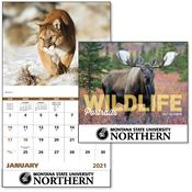 2019 Wildlife Portraits Wall Calendar - Stapled - Personalization Available