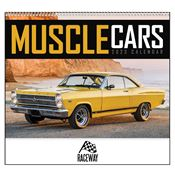 Muscle Cars 2019 Deluxe Appointment Calendar - Spiral - Personalization Available