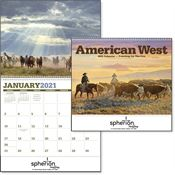 American West 2019 Deluxe Appointment Calendar - Spiral - Personalization Available