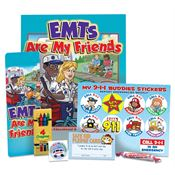 EMTs Are My Friends Educational Activity Pack