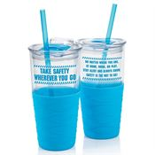 Take Safety Wherever You Go Splash Tumbler