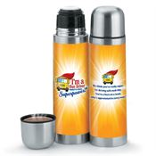 I'm A Bus Driver, What's Your Superpower? Stainless Steel Vacuum Thermos