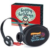 TIndividually We Are Special, Together We Are Spectacular Folding Headphones With Case
