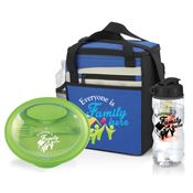 Everyone Is Family Here Food Container, Merrick Lunch Cooler Bag & Fruit Infuser Water Bottle Gift Set