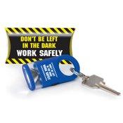 Don't Be Left In The Dark: Work Safely LED Carabiner Flashlight