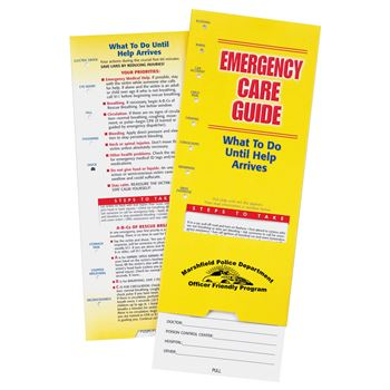 Emergency Care Slideguide - Personalization Available