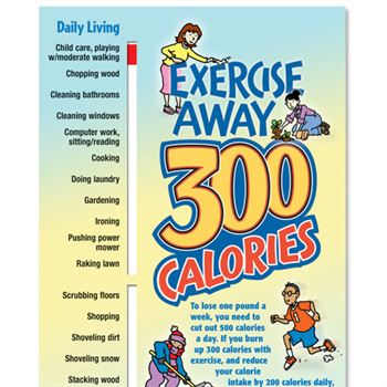 Exercise Away 300 Calories Slideguide